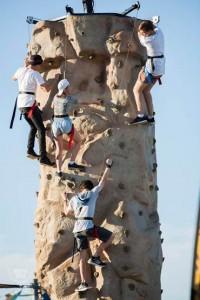Hyperfest Climbing Pic