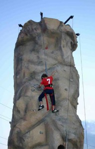 Radrock Climbing Wall: Race to the top!