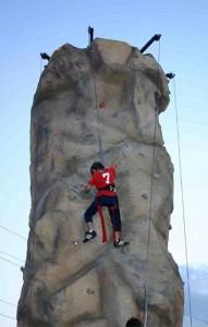 Radrock Climbing Wall: Race to the top!